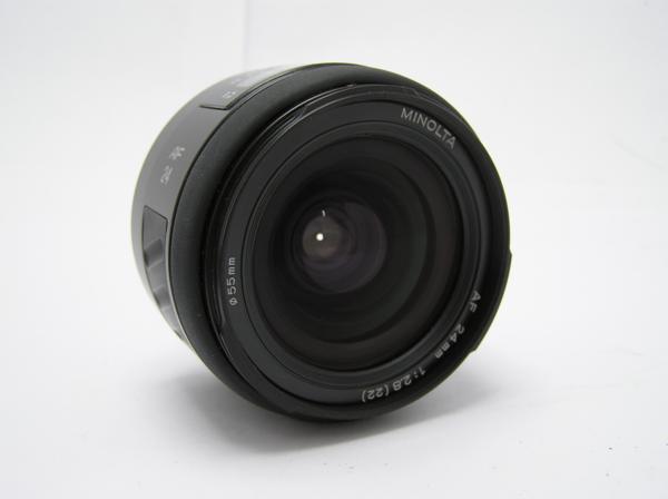 ★ハロ-カメラ★5833 MINOLTA AF (24mm/2.8) レンズ 動作品   現状_画像4