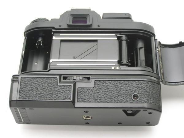 ★ハロ-カメラ★5841 Nikon FG 黒 MD-E付 Body 難有 動作品 希少品_画像4