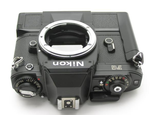 ★ハロ-カメラ★5841 Nikon FG 黒 MD-E付 Body 難有 動作品 希少品_画像6