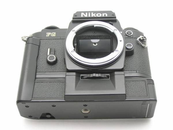 ★ハロ-カメラ★5841 Nikon FG 黒 MD-E付 Body 難有 動作品 希少品_画像7