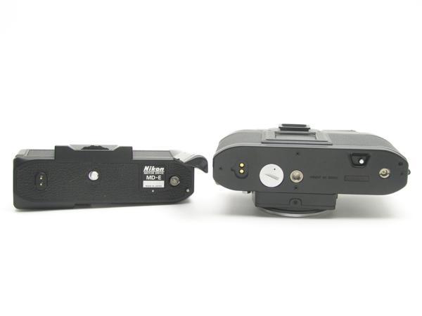 ★ハロ-カメラ★5841 Nikon FG 黒 MD-E付 Body 難有 動作品 希少品_画像9