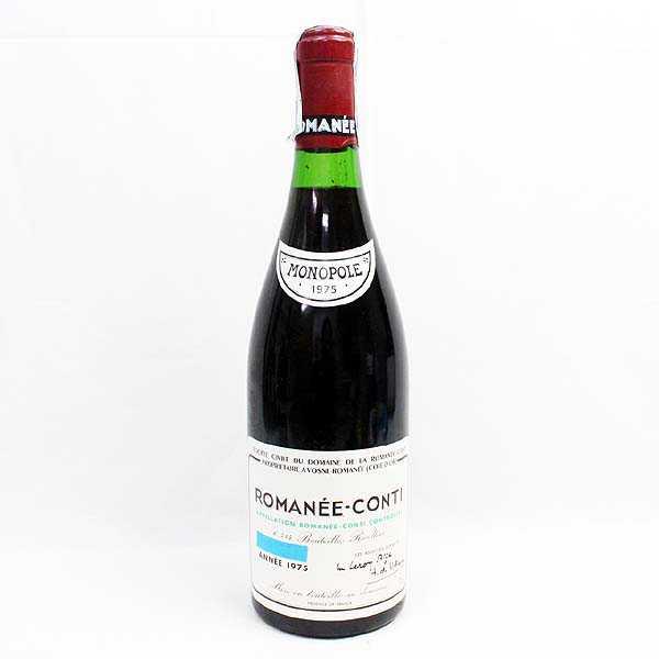 ☆DOMAINE DE LA ROMANEE-CONTI(ドメーヌ ド ラ ロマネ コンティ) 1975 T7H06138
