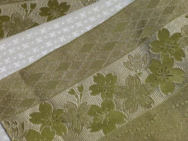 ☆オリジナル製レトロ木綿着物(ゆかた)+帯セット現品限り⑯_画像10
