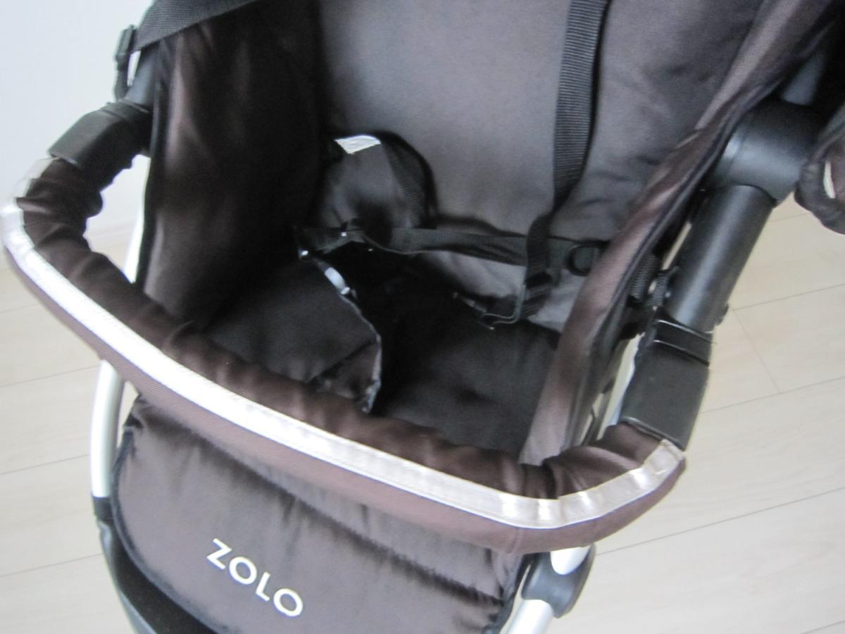安値 ZOLO ゾロ FIRST ファースト バギー 3輪 折り畳み ベビーカー_画像3