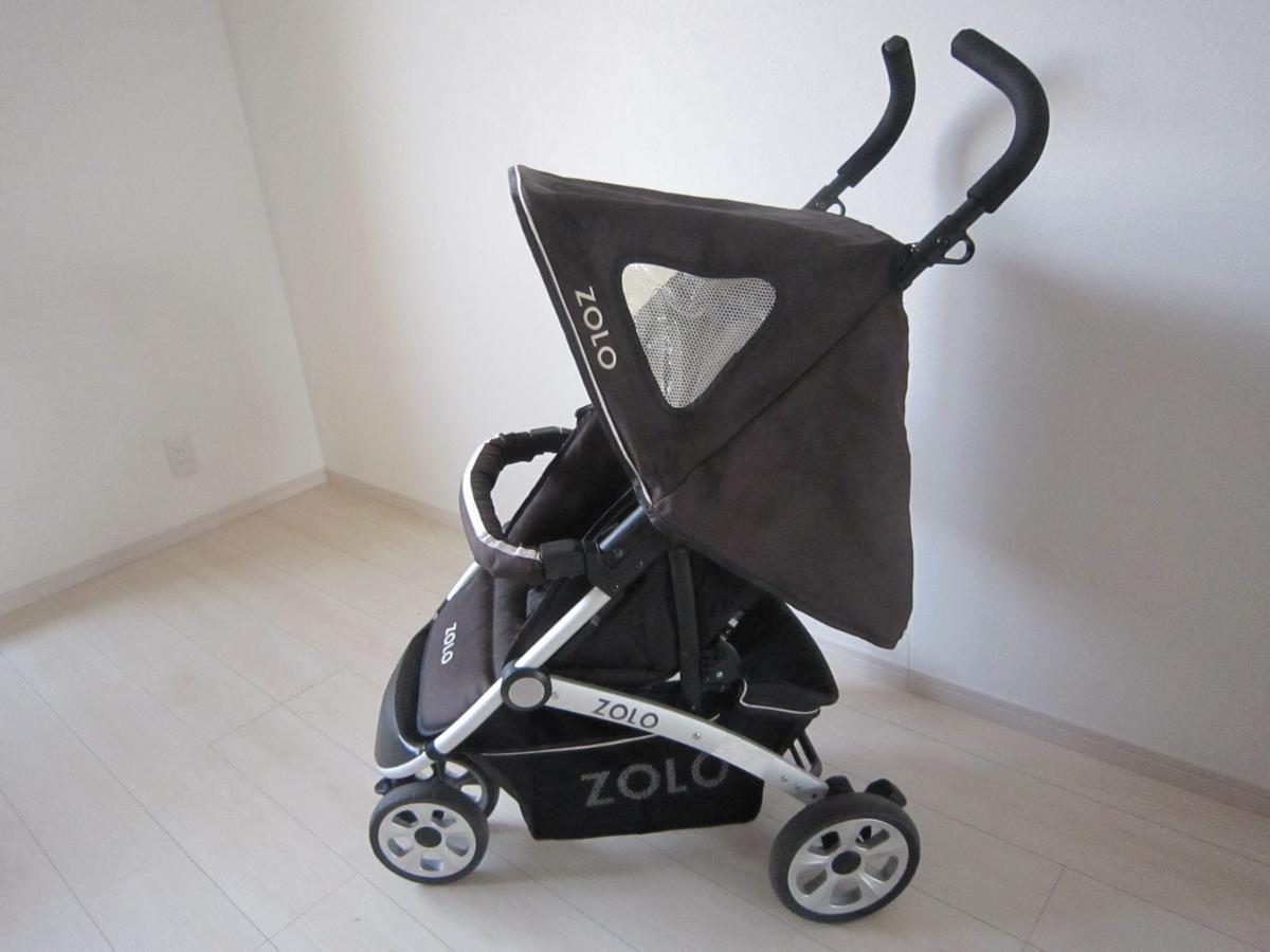 安値 ZOLO ゾロ FIRST ファースト バギー 3輪 折り畳み ベビーカー_画像4