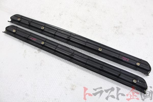 3557254 純正オプション スカッフプレート スカイライン GT-R V-spec BCNR33 前期 トラスト企画_画像9
