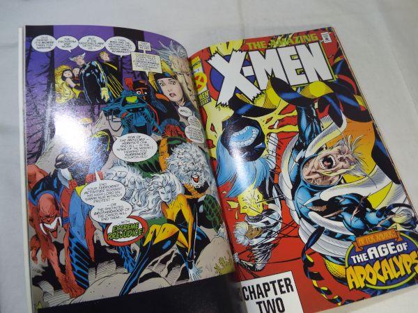 アメコミ[MARVEL AGE OF APOCALYPSE THE AMAZING X-MEN] マーヴェル X-MEN エイジ・オブ・アポカリプス ゴールド版 洋書 英語【送料180円】_画像6