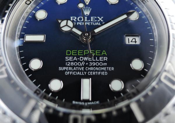 【新品】ロレックス ROLEX シードウェラー ディープシー Dブルー116660 シール有 2015年スイス保証書有 文字盤マイナーチェンジ前 cz2664_ロレックス シードウェラー Dブルー116660