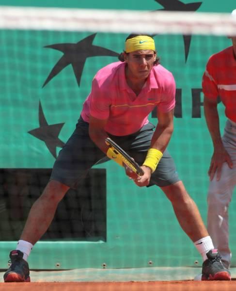 NIKE ナイキテニスウエアパンツ L 全仏オープン ナダルモデル/フェデラー Rafael Nadal Roger Federer_画像1