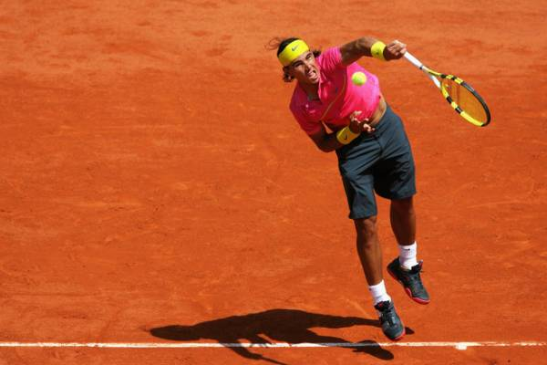 NIKE ナイキテニスウエアパンツ L 全仏オープン ナダルモデル/フェデラー Rafael Nadal Roger Federer_画像2