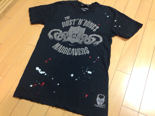 The DUST'N'BONEZ / C.F.T.L Tシャツ 森重 ZIGGY 希少