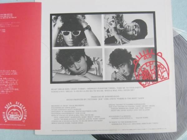 KODOMO BAND/ROCK&ROLL WILL NEVER DIE LP 子供バンド 中古品_画像2
