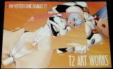 C77 T2 ART WORKS (Tony) 台紙付きテレカ/エヴァ/綾波