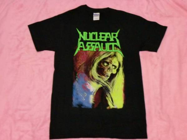 NUCLEAR ASSAULT ニュークリア アソート Tシャツ ロックT バンドT ツアーT S Anthrax