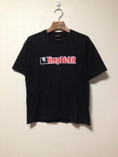 [即決古着]limp bizkit/リンプビズキット/back 2 basics tour/ツアーTシャツ/バンドT/半袖/黒/ブラック/USA製/M