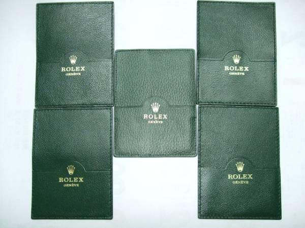 純正 ロレックス グリーン カードケース 最安値 5枚セット