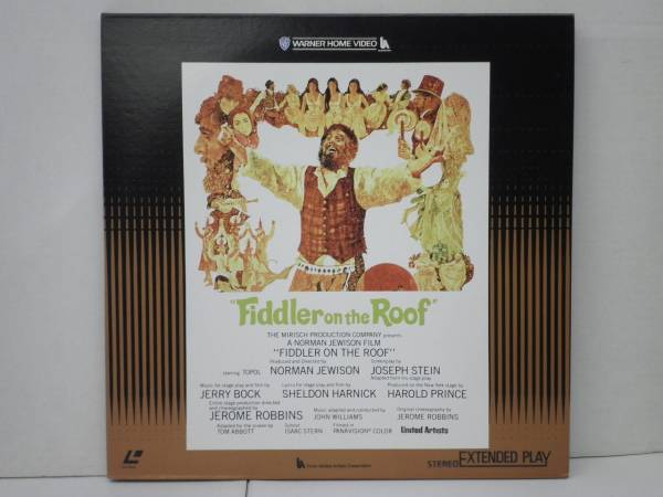 (LD-331)ノーマン・ジュイスン監督「屋根の上のバイオリン弾き」音楽;ジョン・ウィリアムズ、解説付き_画像1