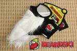 ◆新品 Beardski 北米で大人気! 白ひげ ソフトシェル フェイスマスク 髭 サンタ コスプレ 防寒 スキー スノーボード