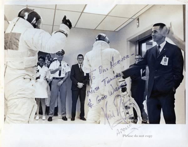 アポロ 11号APOLLO ニール・アームストロング サイン フォト
