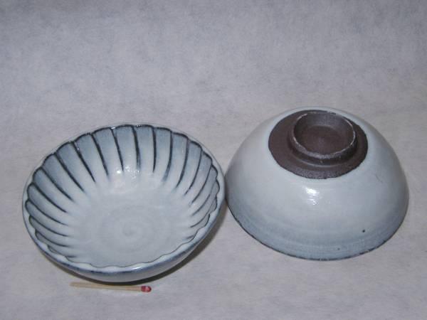 丹波立杭焼「鎬(しのぎ)鉢(海鼠釉)」4寸