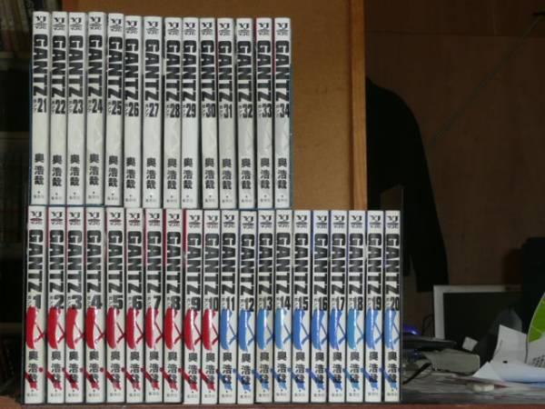 GANTガンツ 全37巻 グッズの画像