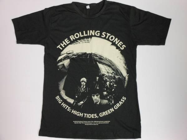 ★新品★ ローリングストーンズ / ROLLING STONES ≪BIG HITS≫Tシャツ ★ 黒くぬれ!