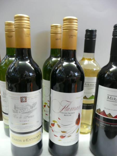 赤白ワイン6本セット/チリ・フランス