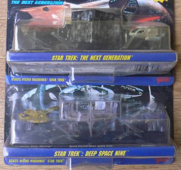 Micro Machines STAR TREK 2 or Star Trek toys