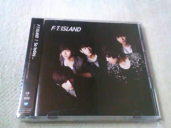 FTISLAND「So today...」初回A(DVD付)_画像1