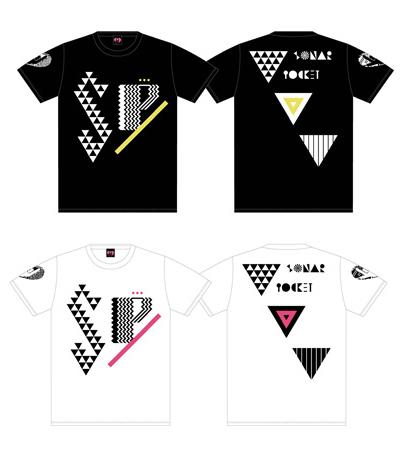 ☆ソナーポケット☆ソナポケイズムSPECIAL 幾何学Tシャツ【白】