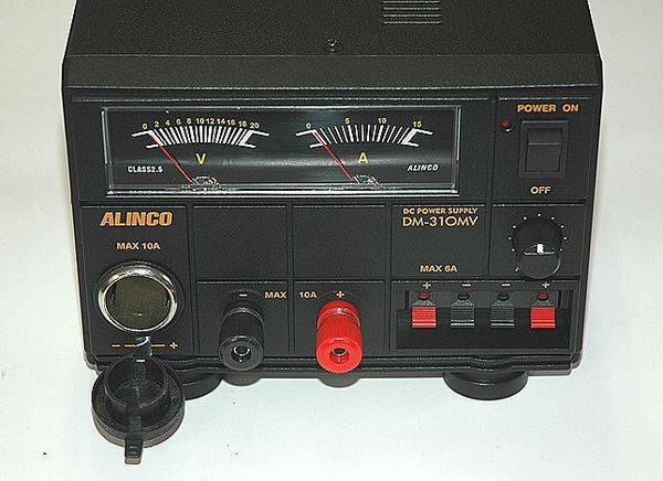 ①【条件付送料無料】アルインコ DM-310MV 10A安定化電源_画像3