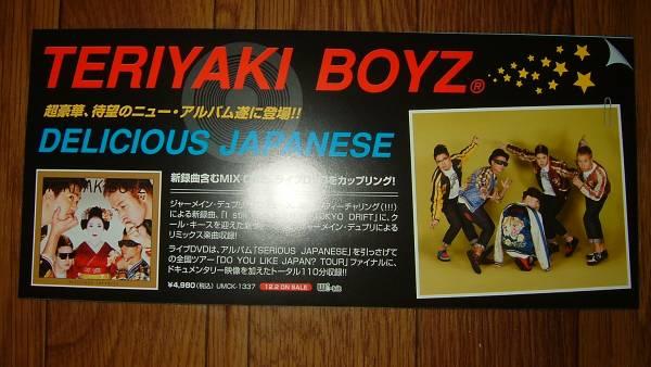 【ミニポスターF9】 TERIYAKI BOYZ/DELICIOUS JAPANESE