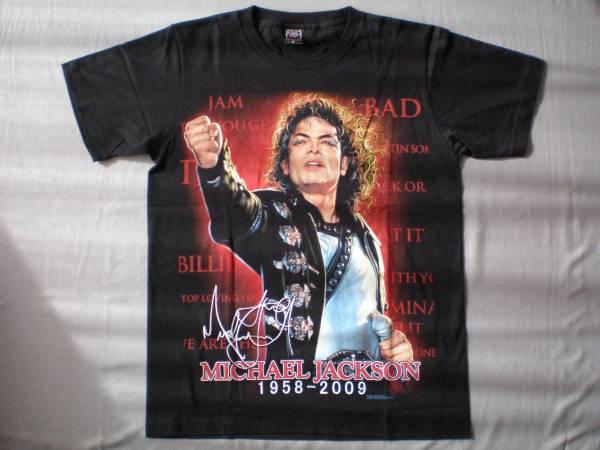 バンドTシャツ マイケル・ジャクソン(Michael Jackson)新品 M
