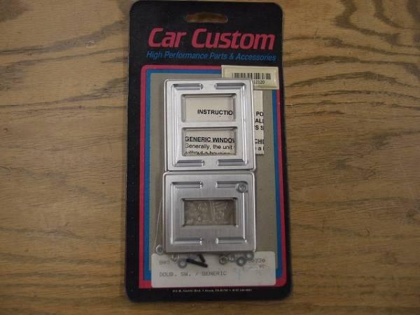 GM車用 ビレット パワーウインドースイッチ カバー 3ボタン_画像1