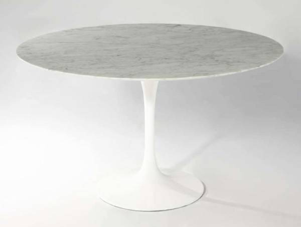 Saarinen marble tulip dining table 122 cm (Search Mid Century Vintage Marble Bouhaus Space Age Nord