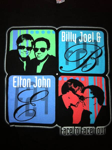 ELTON JOHN×BILLY JOEL/エルトンジョン×ビリージョエルTシャツ