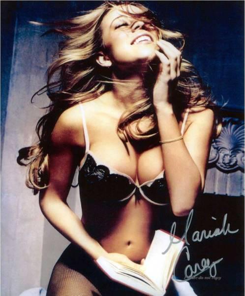 Touch My Body・Mariah Carey マライア・キャリー サイン フォト