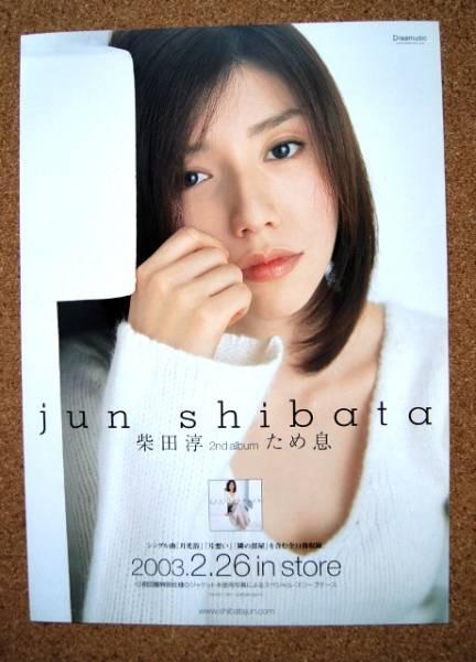 柴田淳◆「ため息」の非売品チラシ オリジナルメッセージ付!