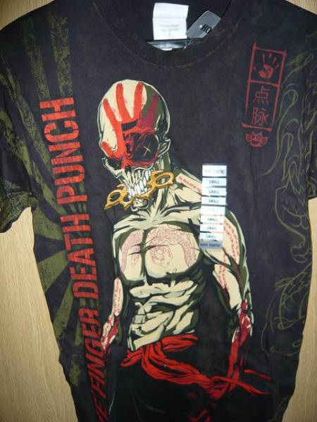 Five Finger Death Punch Tシャツ Sサイズ 1 メタル metal