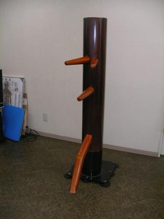 ▽詠春拳で使用! 吸盤固定式自立型木人椿 スタンダード△_吸盤固定式自立型木人椿スタンダード