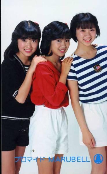 昭和アイドルソフトクリーム(遠藤由美子)ブロマイド 3枚セット12