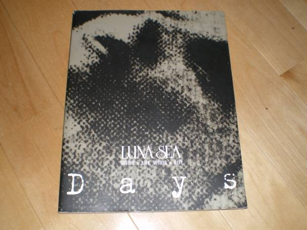LUNA SEA 『days』//ライブ写真集//初版/ルナシー