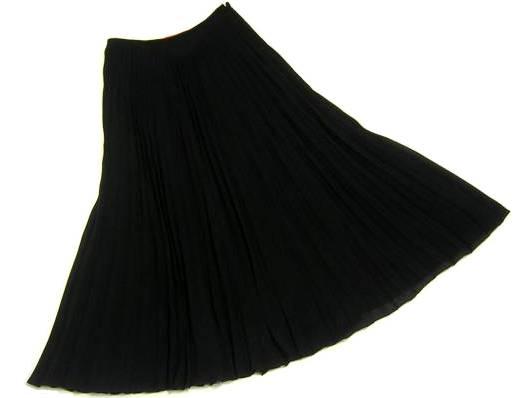 美品 Emanuel Ungaro エマニュエル・ウンガロ イタリア製 シルクプリーツ ロングスカート_画像2