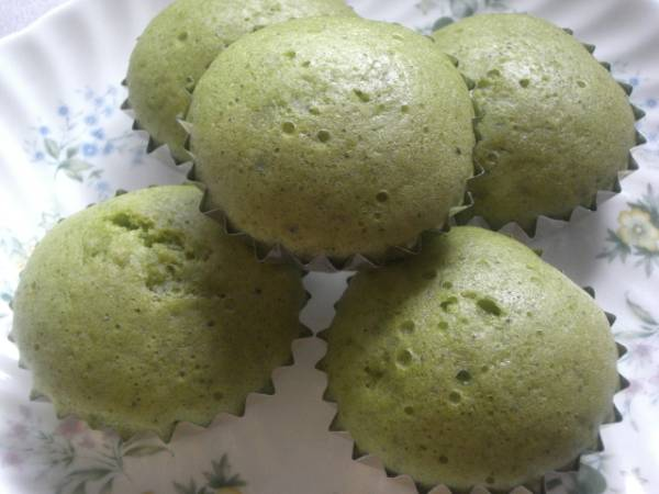 【K'S】色鮮やか ◆◇抹茶蒸しパンケーキ◇◆ 6個_画像3