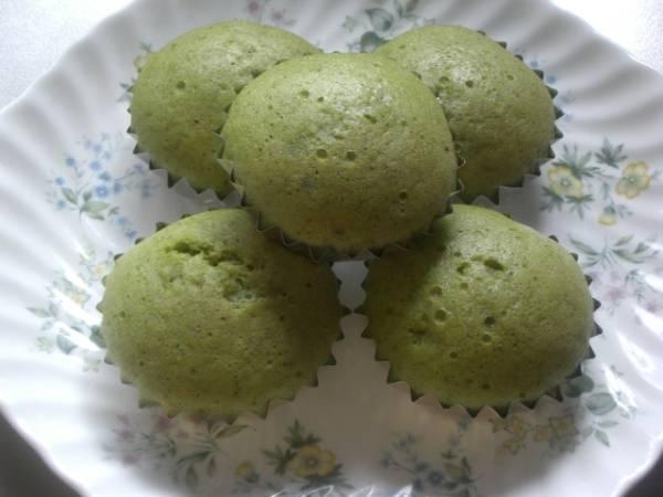 【K'S】色鮮やか ◆◇抹茶蒸しパンケーキ◇◆ 6個_画像1