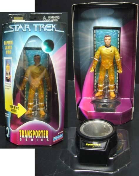 Star Trek/Transporter/Captain Kirk/verified★new