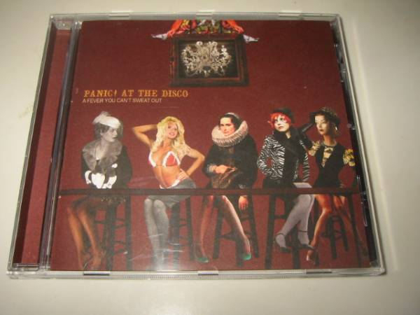 ★PANIC!AT THE DISCO(パニック!アット・ザ・ディスコ)【A FEVER CAN'T SWEAT OUT】CD[輸入盤]_画像1
