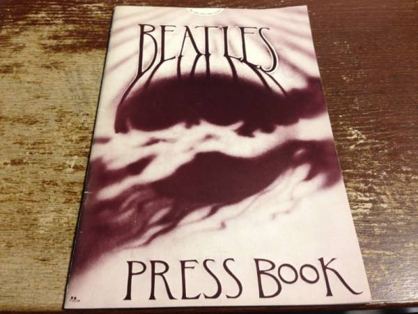 Apple Press Office BEATLES PRESS BOOK ビートルズ プレス レア