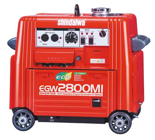 新ダイワ エンジン溶接機 EGW2800MI■送料無料!■消費税込!