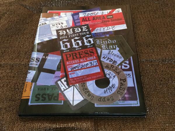 HYDE 2004 666 ツアーパンフレット
